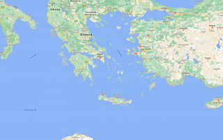 region of crete map from google maps
