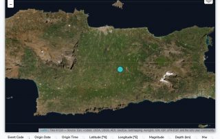 The Arkalohori Greece seismic sequence first day of seismicity earthquake greek crete